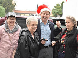 Residents get new van